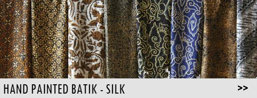 Hand Painted Batik - Silk