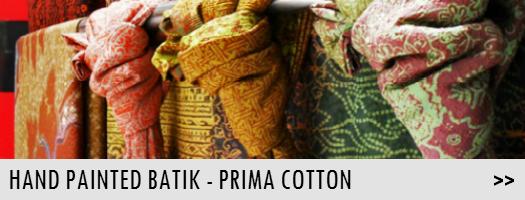 Hand Painted Batik - Prima Cotton